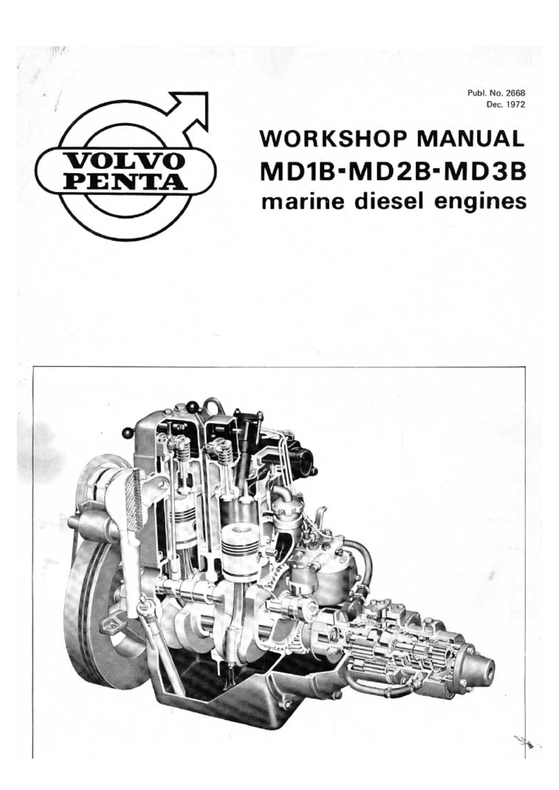Volvo Md1b 2b 3b Workshop Manual