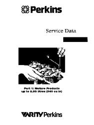 Perkins Service Data Book Part 1