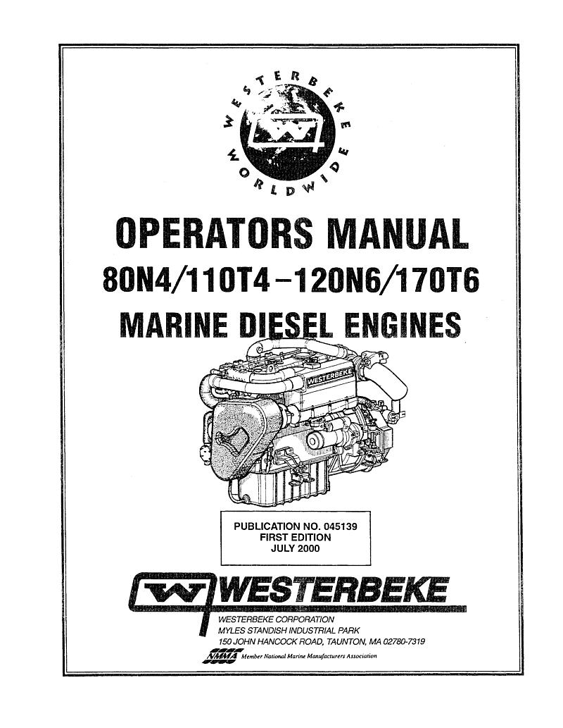 Century 170 T6 Operator's Manual