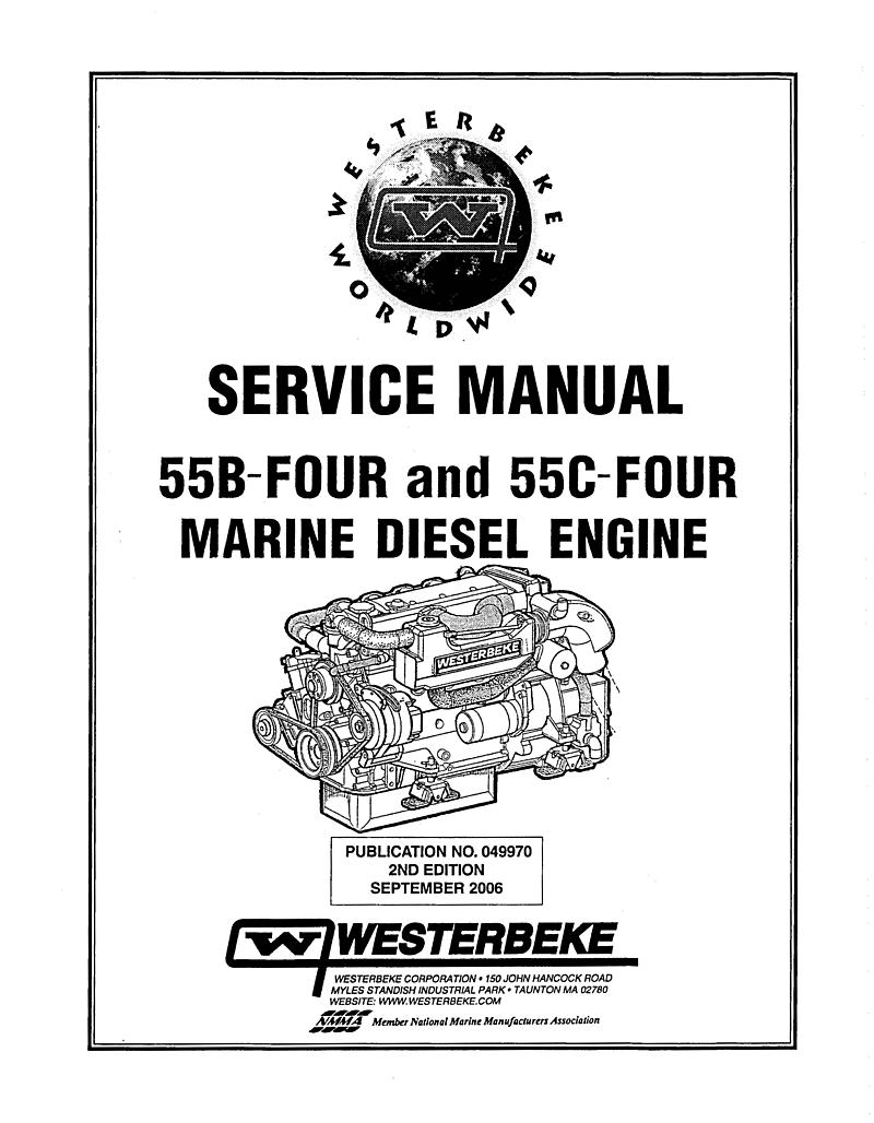 Westerbeke Diesel 55c Four Operator's Manual