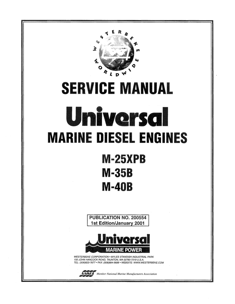 Universal Diesel M 35b Technical Manual