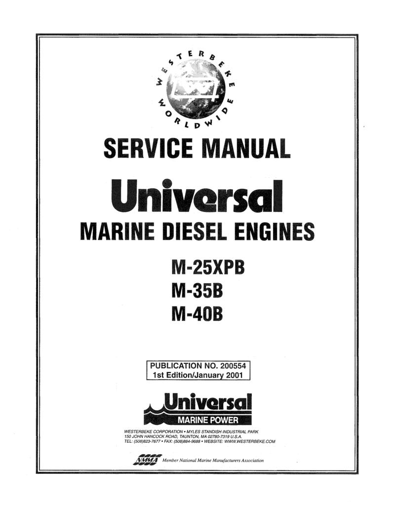 Universal Diesel M 35b Technical Manual