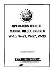 Westerbeke Diesel W 30 Technical Manual