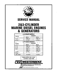 Westerbeke Diesel W 13 Parts Manual