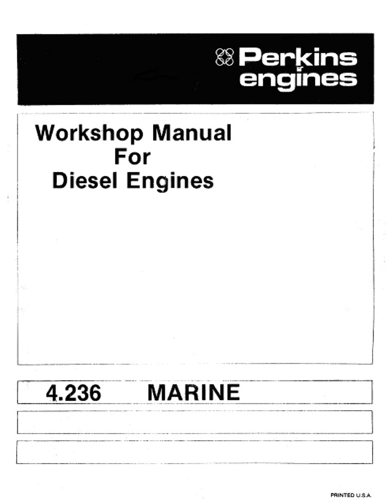 Perkins 4.236 Workshop Manual