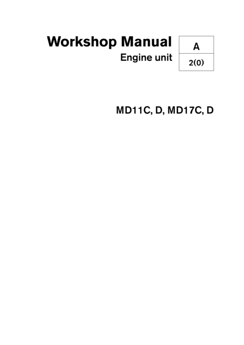 small resolution of volvo penta md11c d md17c d workshop manual volvo penta md11c wiring diagram
