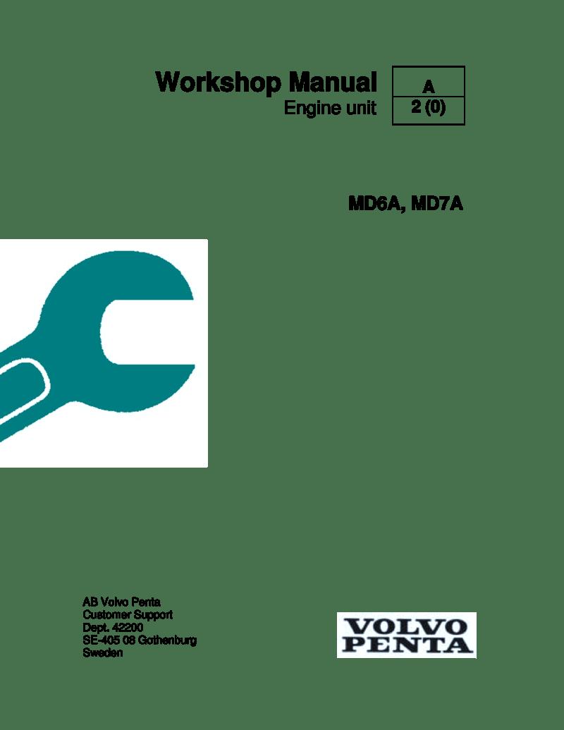 medium resolution of volvo penta md6a md7a workshop manual md7a hp volvo md7a wiring diagram