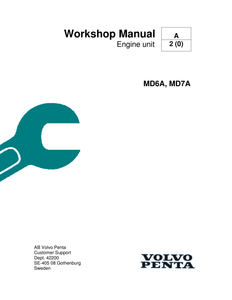 hight resolution of volvo penta md6a md7a workshop manual md7a hp volvo md7a wiring diagram