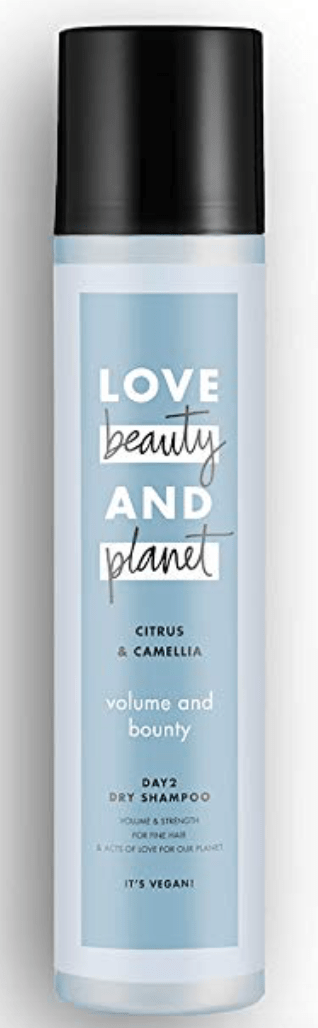 love beauty and planet volume dry shampoo