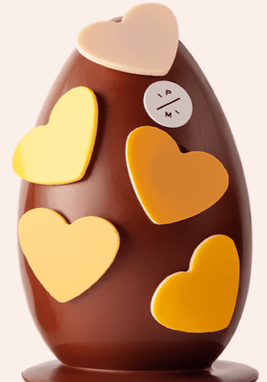marcolini big lovely heart egg