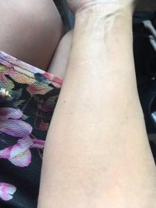 estee lauder maximum cover on arm