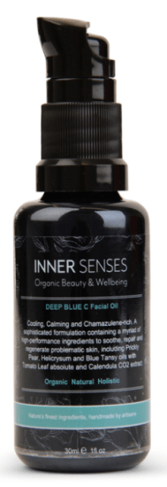 inner senses deep blue c facial oil