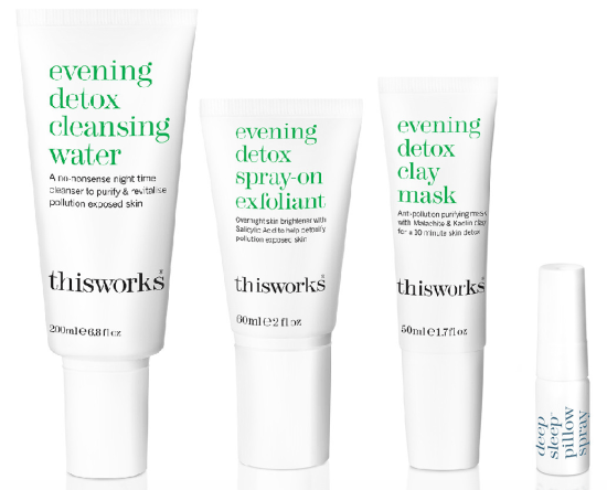 This Works evening detox collection