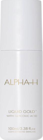 alpha-H liquid gold exfoliator for dry skin