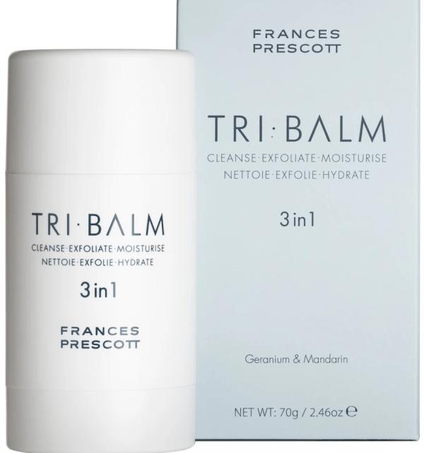 multi-tasking skincare frances Prescott tri-balm