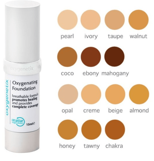 best foundation every skin type, oxygenetix oxygenating foundation