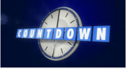 lockdown - a pic of countdown programme