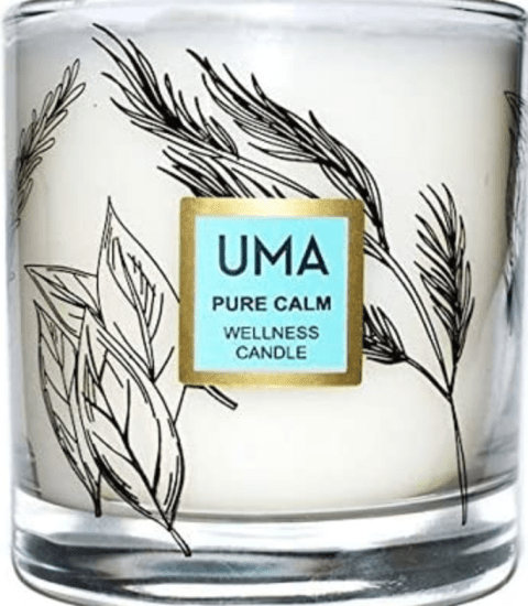 ignite ultimate calm with amazing natural aromatherapy candle -uma