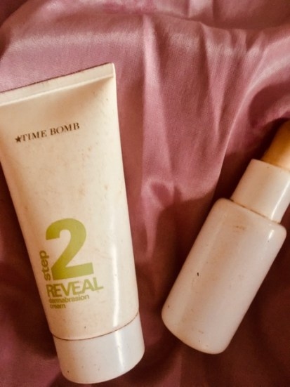 unveil beautiful skin time bomb peel