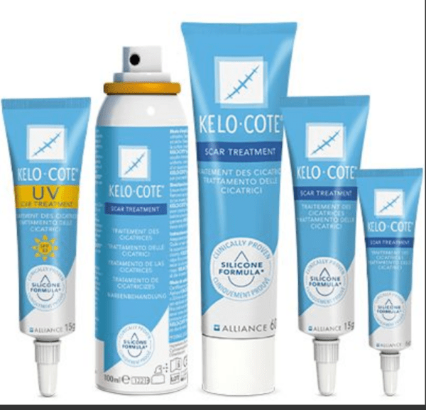 treat scars and stretch marks with kelo-cote