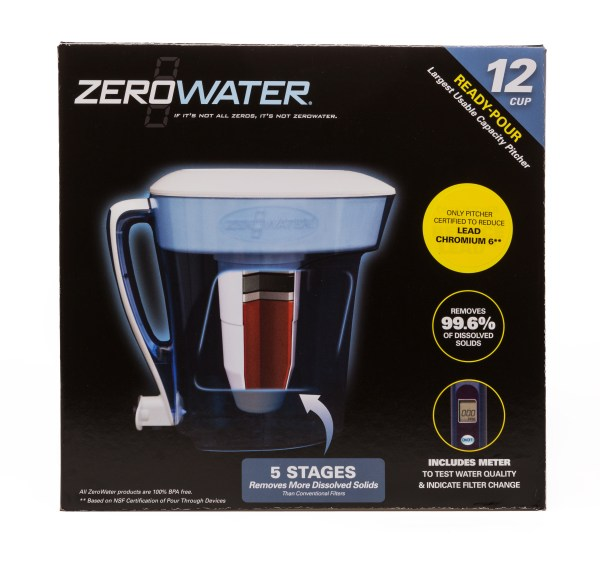 Ensure your drinking water is oure with Zerowater