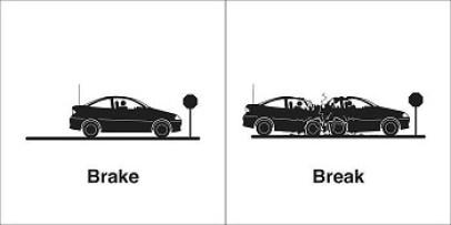 Homonyme Brake / Break