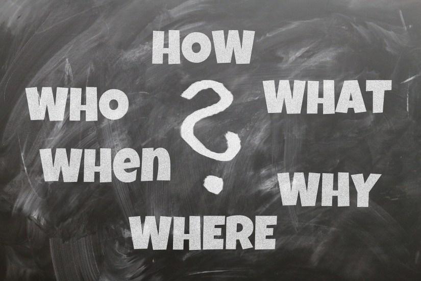 Les mots interrogatifs en anglais