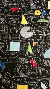 tissu prof de maths