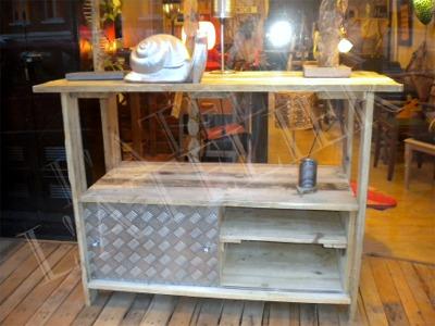 Meuble Sous Vasque En Scrapwood Bois De Palette Boutique