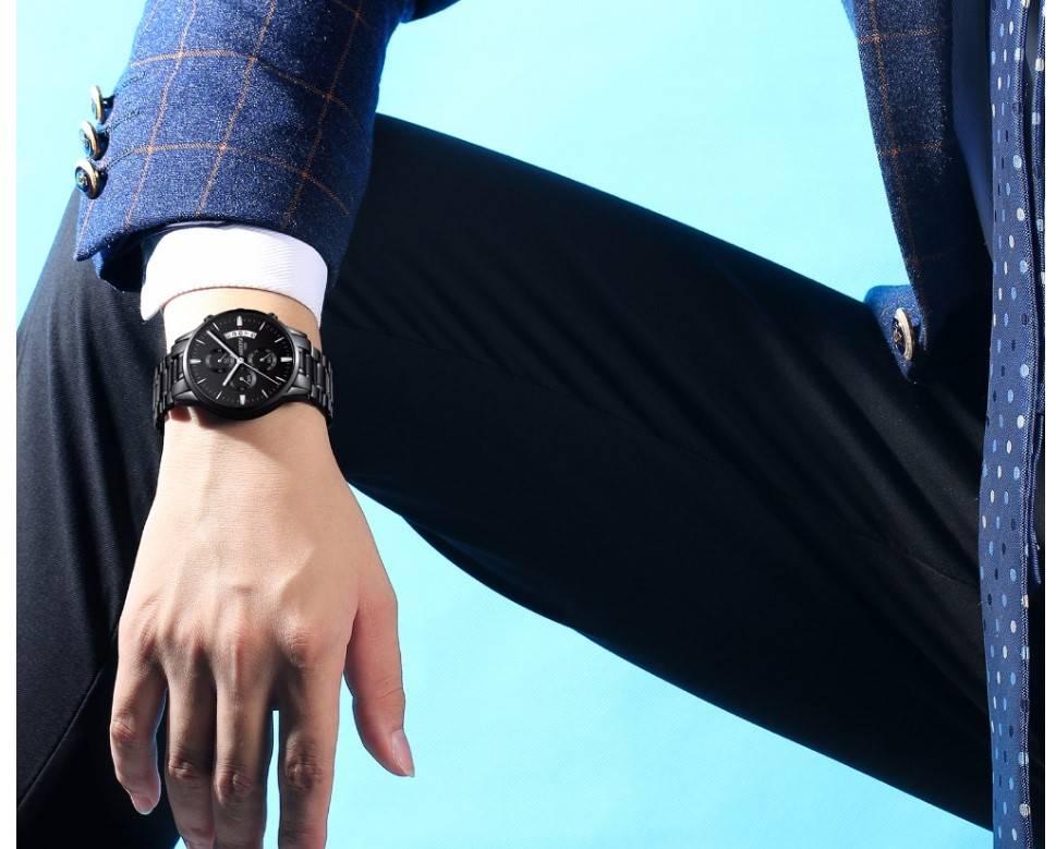 Men's Luxury Chronograph Watch