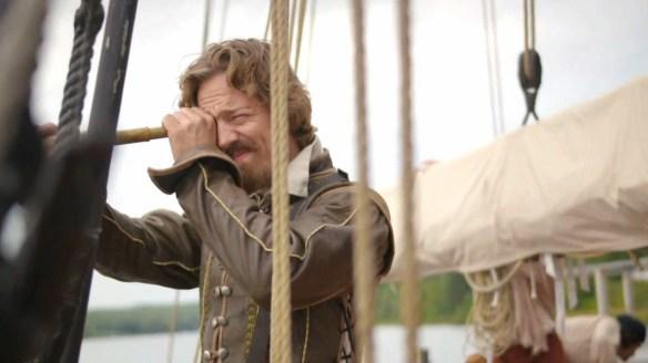 Maxime Le Flaguais dans Le Rêve de Champlain. (Photo: TFO)