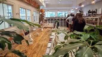 Le café Maman Toronto dans First Canadian Place. (Photo: Nathalie Prézeau)