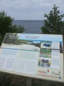 Le lac Supérieur, vu juste au nord de Sault Sainte-Marie.