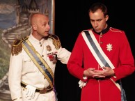 Pierre Gregory (le roi) et Antoine Tapin (le prince). (Photo: Ron Giddings)
