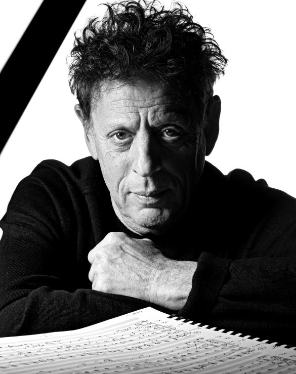 Philip Glass (Photo : Raymond Meier)
