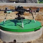 Un drone pour surveiller les cultures.