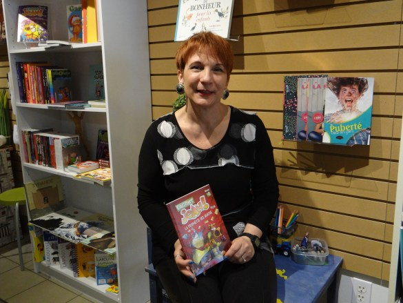 Lynda Grimard-Watt, propriétaire du Children's French Book Corner