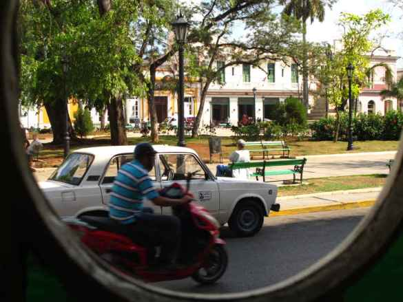 Scène de rue à Matanzas.