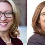 Mona Fortier (libérale) et Émilie Taman (néo-démocrate) sont candidates dans Ottawa-Vanier.