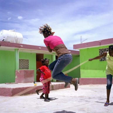 Des enfants au Centre d''action pour le développement.