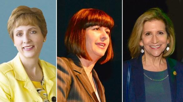 France Gélinas, Marie-France Lalonde, Gila Martow.