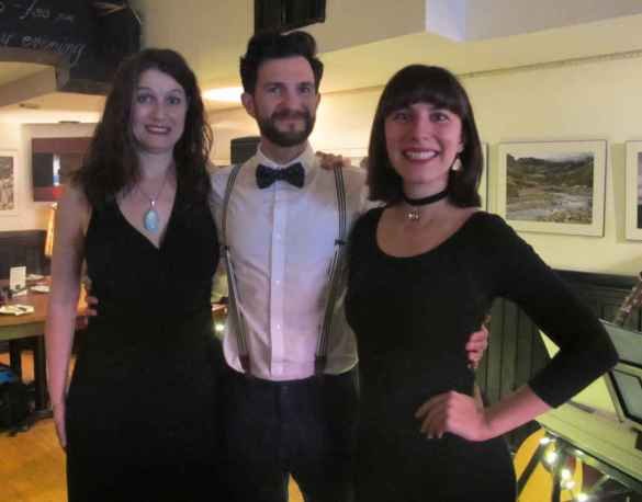 Suzie Bisaillon, Cyril Mignotet et Noémi Parenteau-Comfort.