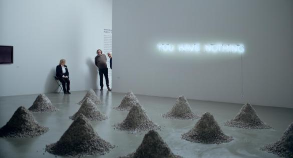 Une scène du film The Square, du Suédois Ruben Östlund, Palme d'Or.