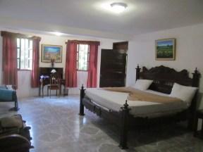 Une chambre à la Villa Ban-Yen.