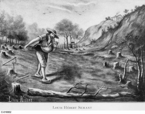 Louis Hébert (Image: Bibliothèque et Archives Canada)