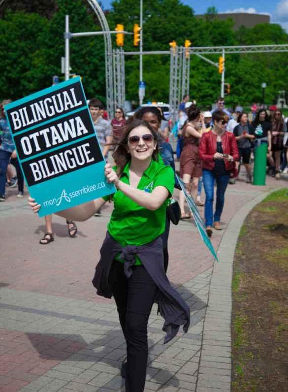 Une capitale bilingue pour un pays bilingue. (Photo: Jean-Philippe Héroux)