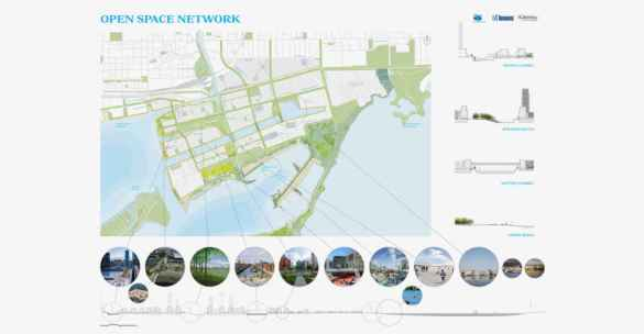 Port Lands sur le Waterfront