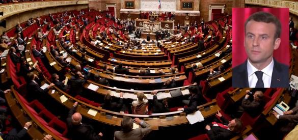 Le nouveau président Emmanuel Macron dispose désormais d'une forte majorité à l'Assemblee nationale française.