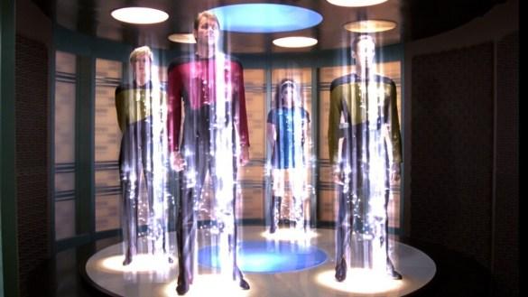 La téléportation dans Star Trek.