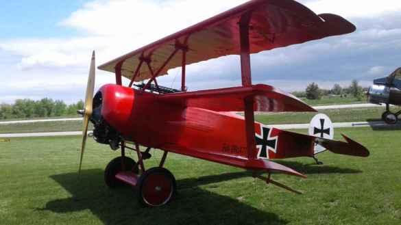Cette pièce de collection est exposée au Great War Flying Musuem.